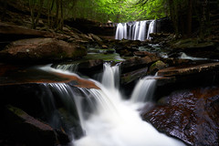 Revisiting a Great Location, Oneida Falls, Rickets Glen State Park