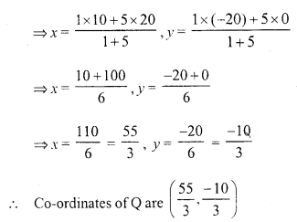 Selina Concise Mathematics Class 10 ICSE Solutions Chapter 13 Section and Mid-Point Formula Ex 13C 2.2