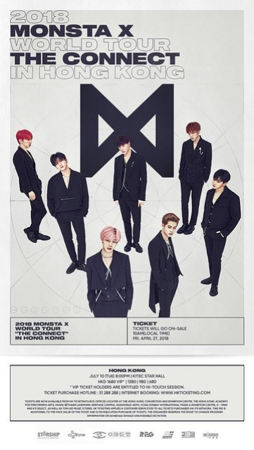 MONSTA X 2ND WORLD TOUR IN HONG KONG (updated)