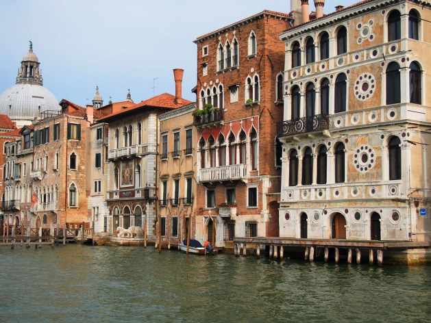 A Section of the Grand Canal in the Dorsaduro Sestiero of Venice
