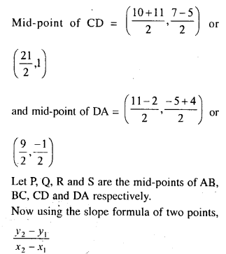 Selina Concise Mathematics Class 10 ICSE Solutions Chapter 14 Equation of a Line Ex 14B 10.1