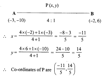 Selina Concise Mathematics Class 10 ICSE Solutions Chapter 13 Section and Mid-Point Formula Ex 13A 9