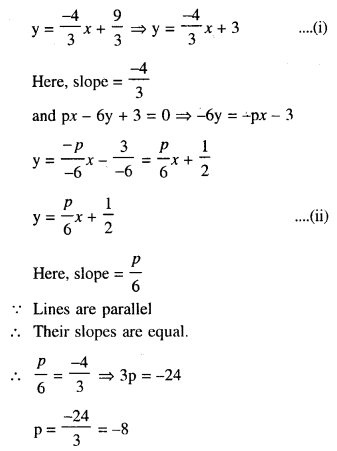 Selina Concise Mathematics Class 10 ICSE Solutions Chapter 14 Equation of a Line Ex 14D 9