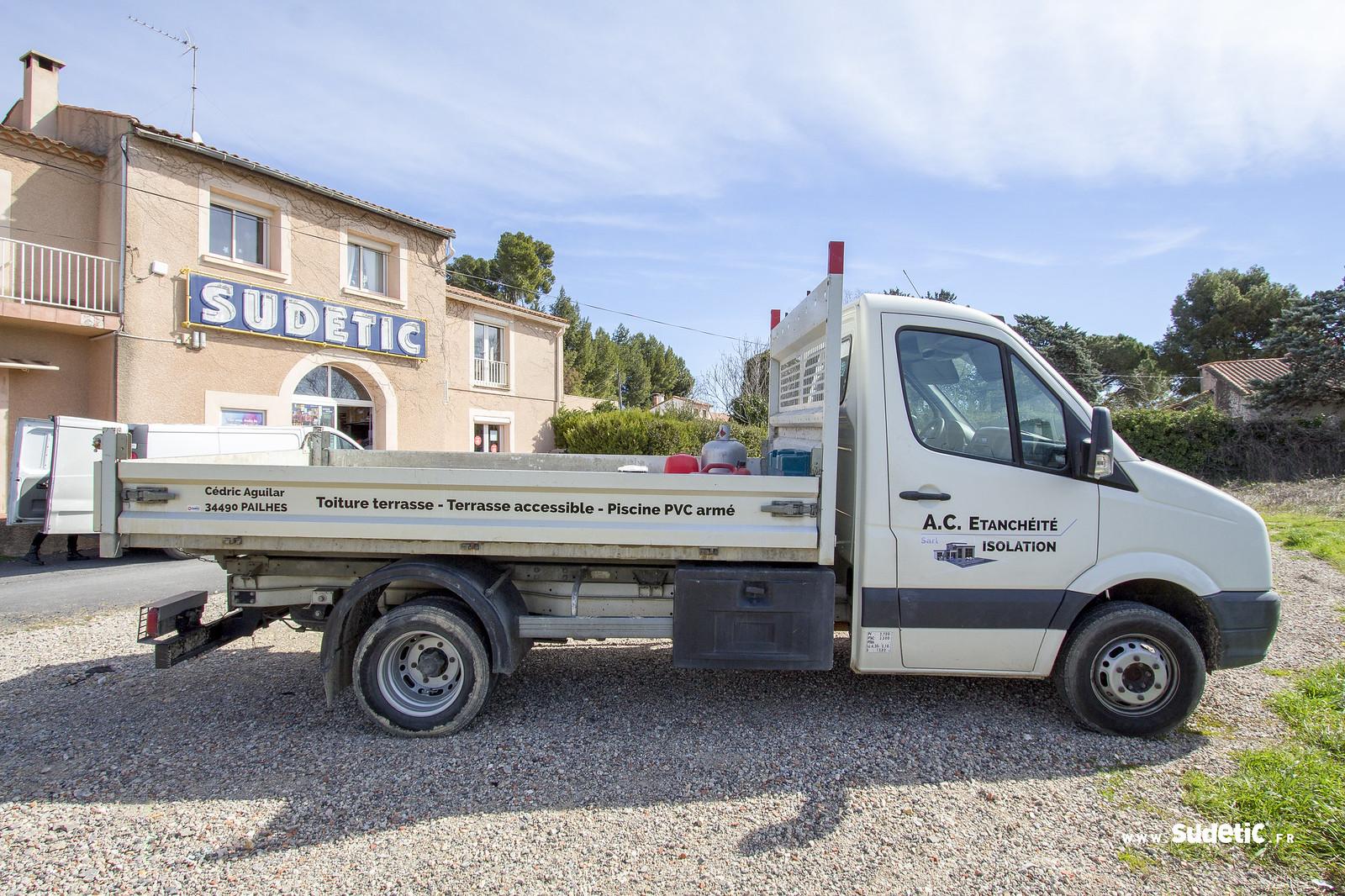 Sudetic camion plateau AC Etancheite-3