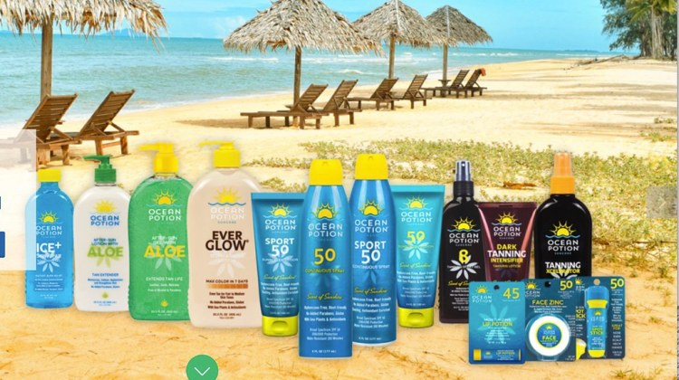 Ocean Potion Sunscreen