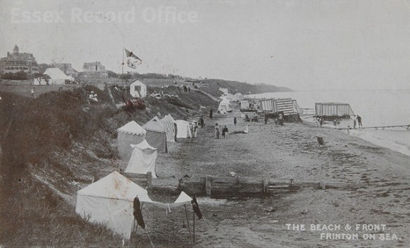 Frinton-on-Sea in old postcards
