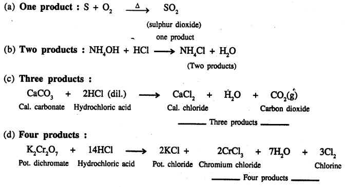 New Simplified Chemistry Class 9 ICSE Solutions - The Language Of Chemistry - 14.3