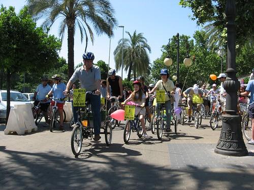 Marcha en Bici por tu Salud y la de la Ciudad.