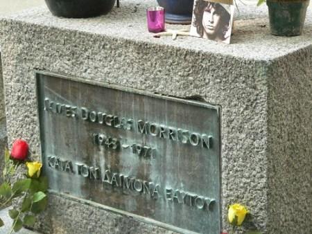 Père Lachaise: cimitero Parigi con la tomba di Jim Morrison