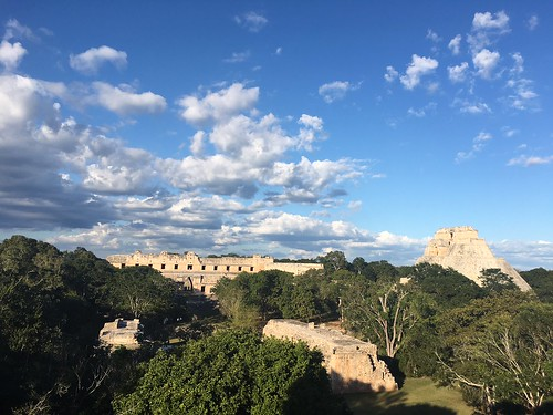 Uxmal Ruins. From Exploring the Ecoparque Museo del Chocolate in Uxmal, Mexico