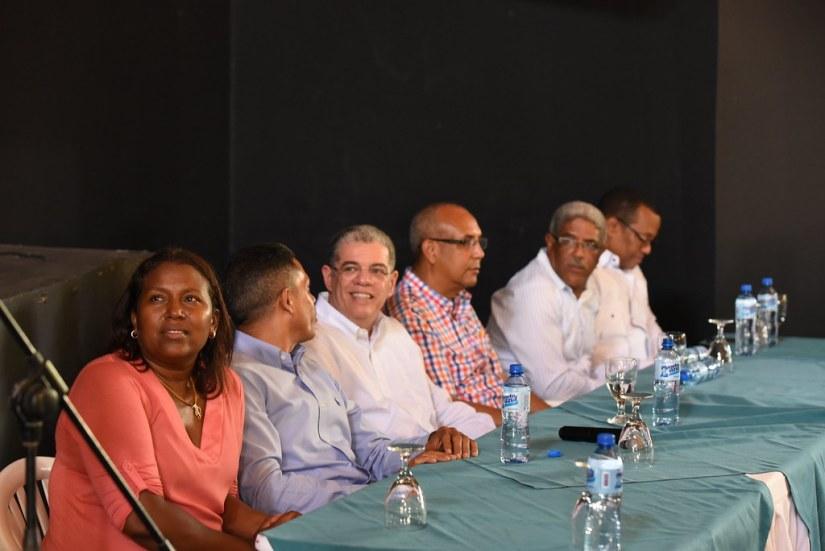 Sosúa: encuentro con asociaciones, sindicatos y prodictores, 16 de junio 2018