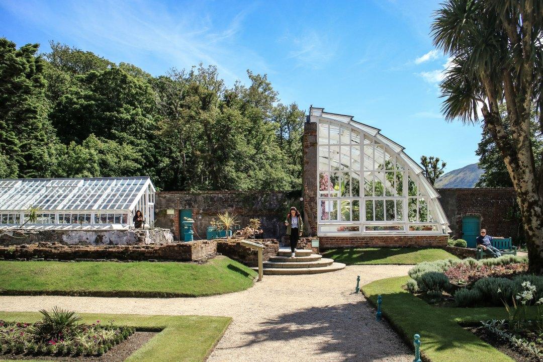 Kylemore Abbey giardini