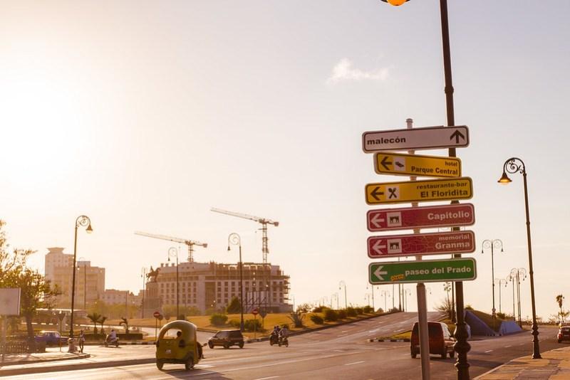 Signs in Havana