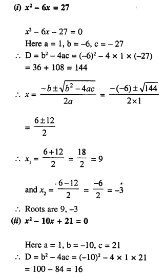 Selina Concise Mathematics Class 10 ICSE Solutions Chapter 5