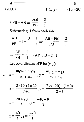 Selina Concise Mathematics Class 10 ICSE Solutions Chapter 13 Section and Mid-Point Formula Ex 13C 2