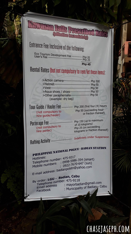 Kawasan Falls - Badian, Cebu (Travel Guide)
