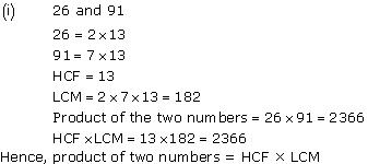 NCERT Solutions for Class 10 Maths Chapter 1 Real Numbers 6