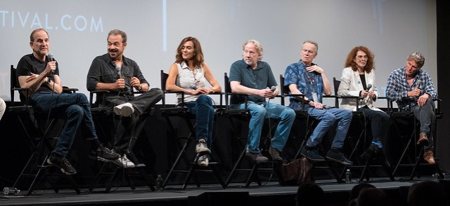 Marshall Herskovitz, Edward Zwick, Polly Draper, Timothy Busfield, David Clennon, Melanie Mayron and Peter Horton