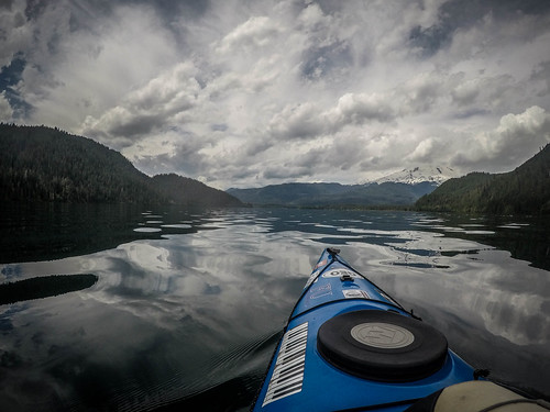 Kayaking on Baker Lake-151