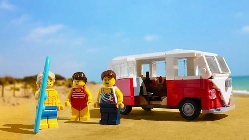 Vw Camper Lego Instructions Volkswagen Car