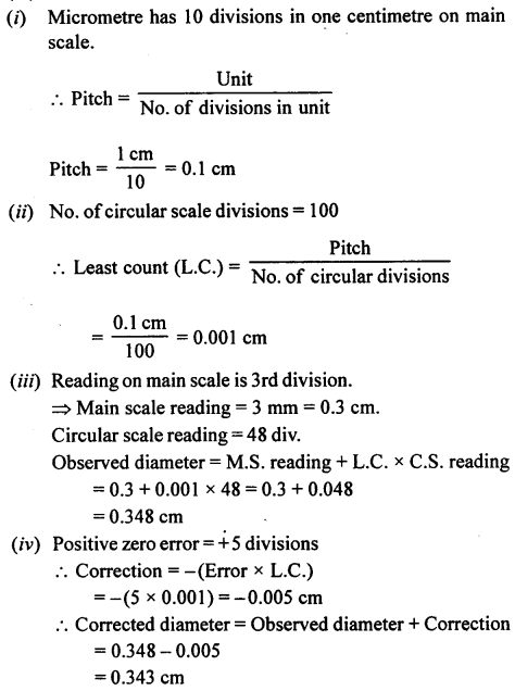 A New Approach to ICSE Physics Part 1 Class 9 Solutions Measurements and Experimentation 32