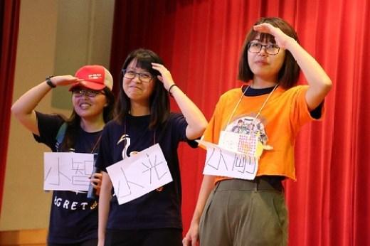 活潑生動的舞台劇表演,帶領學童進入霄裡的歷史場景