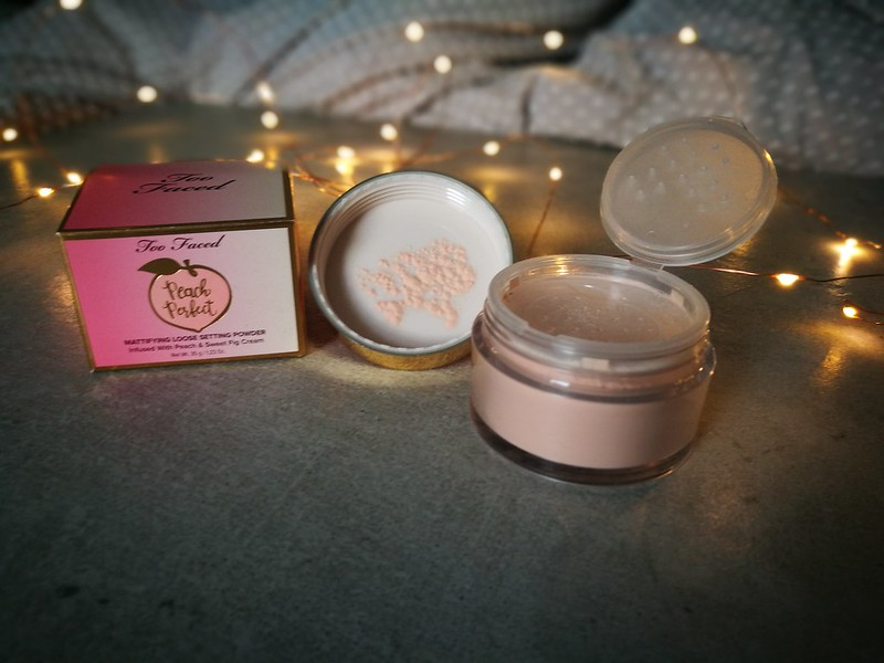 Too Faced Peach Perfect mattifying powder review cruelty free