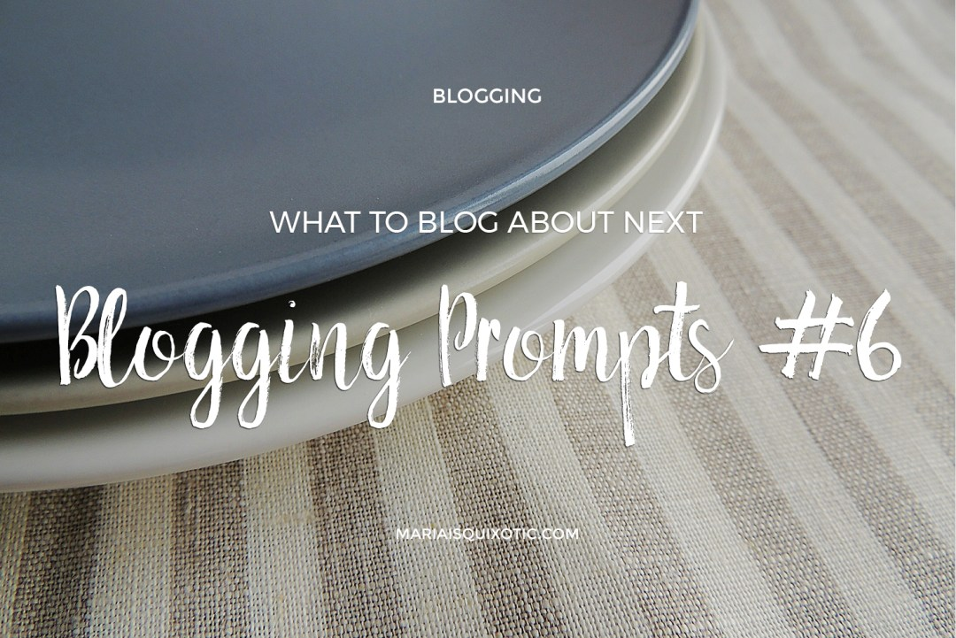What to blog about next?