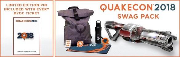 QuakeCon Swag Pack