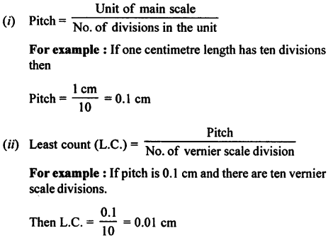 A New Approach to ICSE Physics Part 1 Class 9 Solutions Measurements and Experimentation 27.1