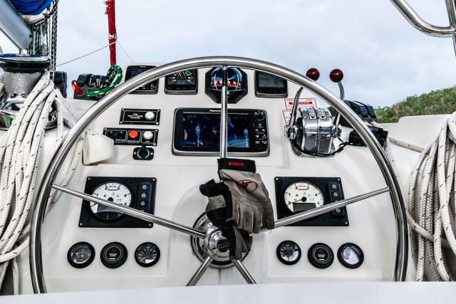 the captain's controls