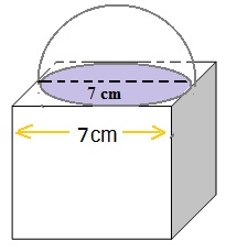NCERT Solutions For Maths Class 10 Surface Areas and Volumes 13.1 5