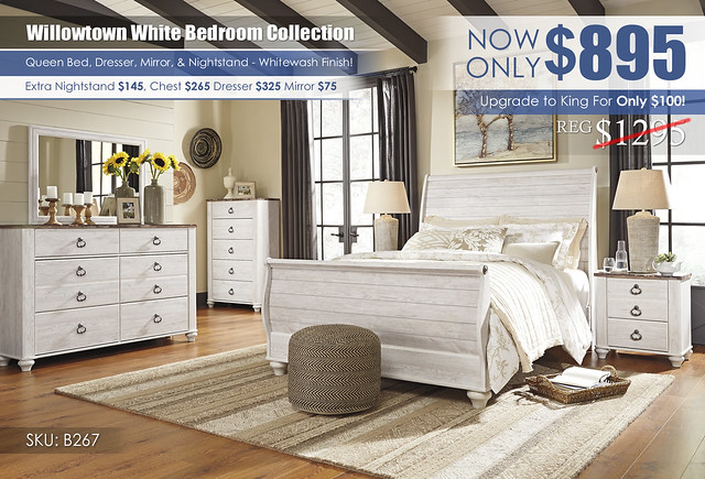 Willowtown Bedroom Collection_B267_KU