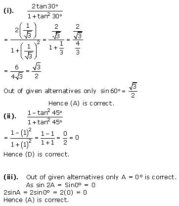 NCERT Solutions for Class 10 Maths Chapter 8 Introduction to Trigonometry 17