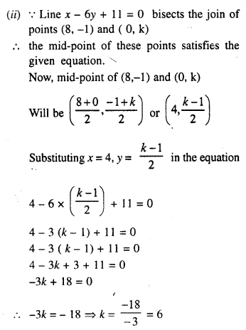 Selina Concise Mathematics Class 10 ICSE Solutions Chapter 14 Equation of a Line Ex 14A 7.1