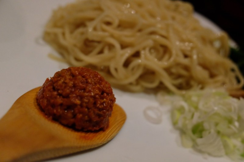 Chilled dandan dip noodle