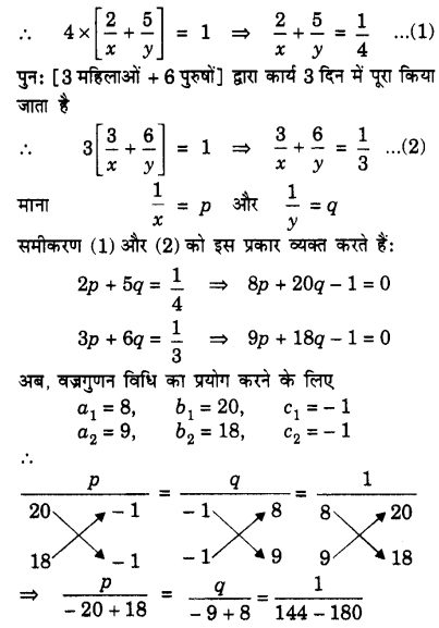class 10 Maths Chapter 3 Exercise 3.5 download in PDF