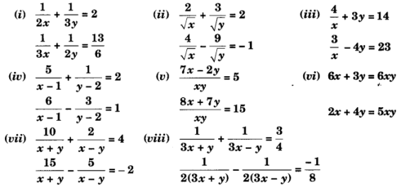 UP Board Solutions for Class 10 Maths Chapter 3 page 74 1
