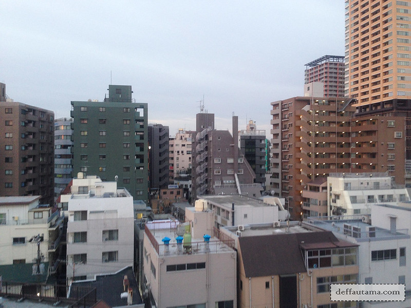 AirBNB Tokyo - Balcony View