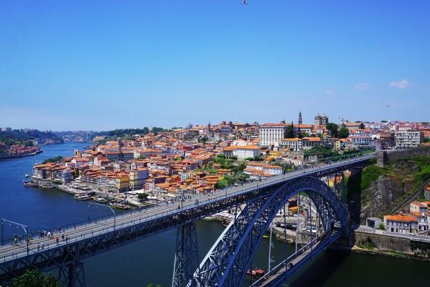 Dom Luís I Bridge and Porto
