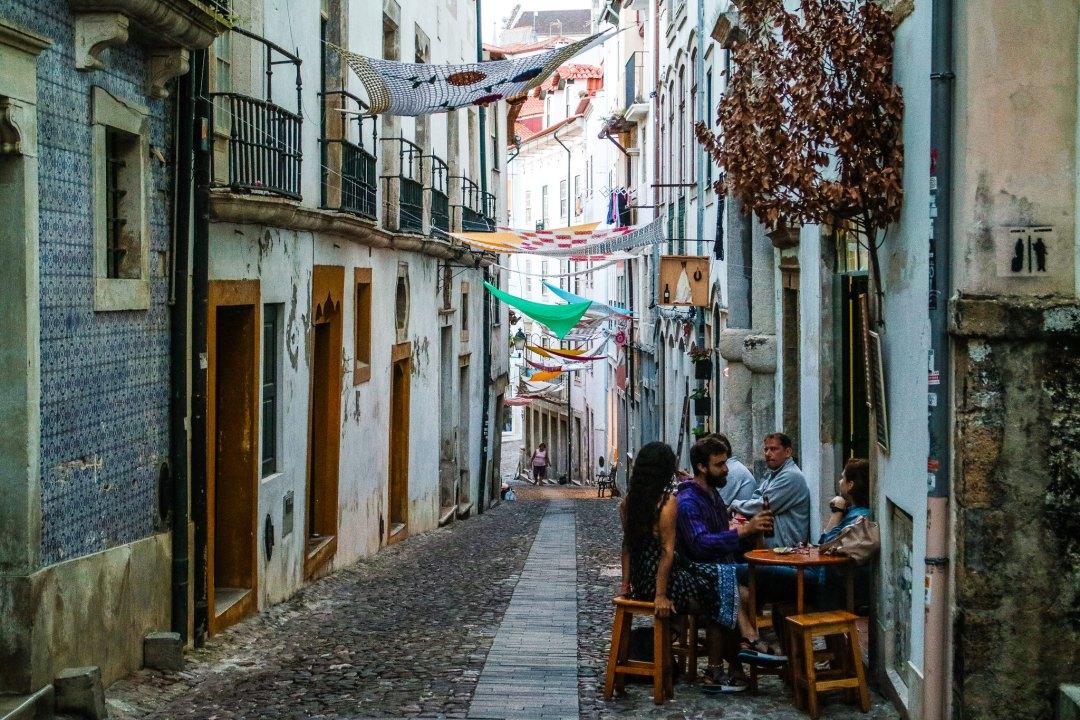 Città alta di Coimbra