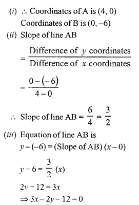 Selina Concise Mathematics Class 10 ICSE Solutions Chapter 14 Equation of a Line Ex 14E 27.1