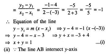 Selina Concise Mathematics Class 10 ICSE Solutions Chapter 14 Equation of a Line Ex 14C 7