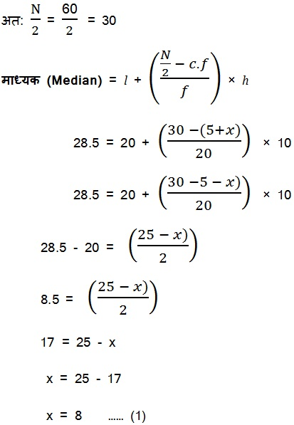 NCERT Solutions For Class 10 Maths PDF Free Hindi Medium Statistics 14.1 58