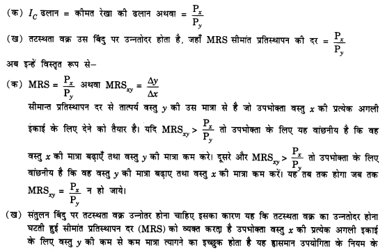 NCERT Solutions for Class 12 Microeconomics Chapter 2 Theory of Consumer Behavior (Hindi Medium) 6.1