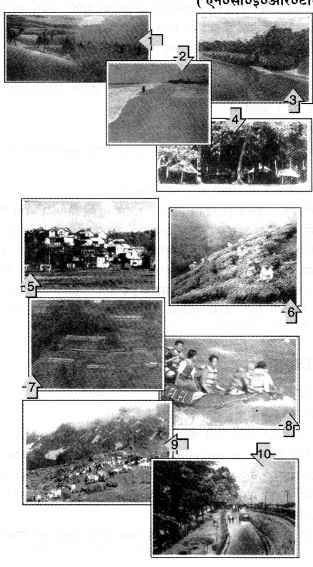 NCERT Solutions for Class 6 Social Science Geography Chapter 6 (Hindi Medium) 1