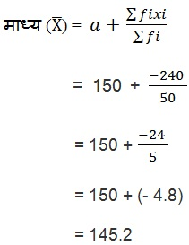 Solutions For NCERT Maths Class 10 Hindi Medium Statistics 14.1 6