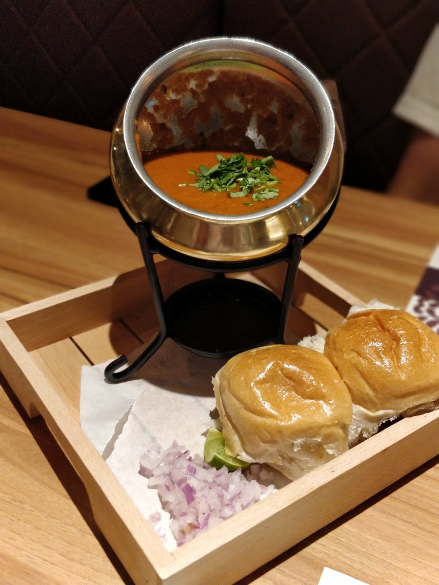 Kailash Parbat Indian Restaurant TST Hong Kong Pav Bhaji