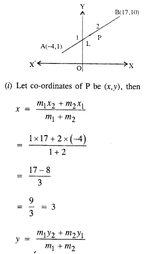 Selina Concise Mathematics Class 10 ICSE Solutions Chapter 13 Section and Mid-Point Formula Ex 13C 12