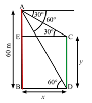 RS Aggarwal Solutions Class 10 Chapter 14 Height and Distance Ex 14a 64